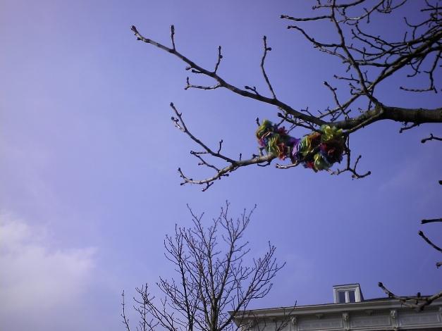 Festive branch