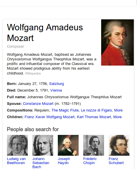 WA Mozart