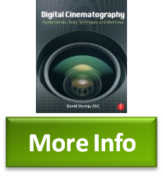 Digital Cinematography Fundamentals, Tools, Techniques, and Workflows Details